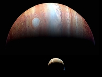 New Horizons image of Jupiter and Io