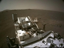 New image from perseverance rover It is safe on the surface of Mars