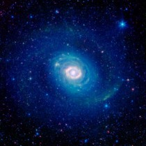 New image of the galaxy Messier  NGC  as seen by the infrared eyes of NASAs Spitzer Space Telescope