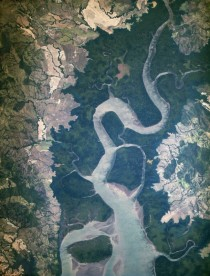 New ISS Eyes See Rio San Pablo