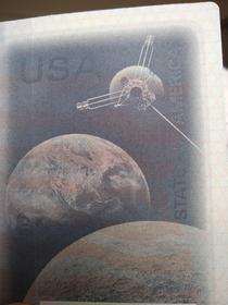 New passport has an homage to voyager