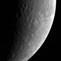 New picture of Mercury by Messenger Spacecraft