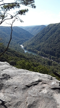 New River Gorge in Glen Jean WV where Im currently travel nursing