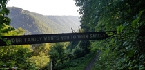 New River Gorge WV abandoned Mining Area