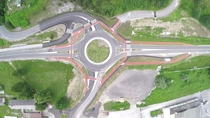 New roundabout near my town