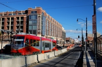 New streetcar in the midst of on-street safety tests Washington DC