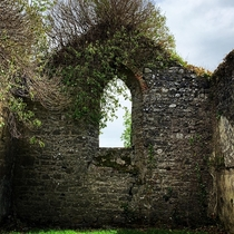 New to photography heres one of my first attempts An abandoned church in Athenry Ireland