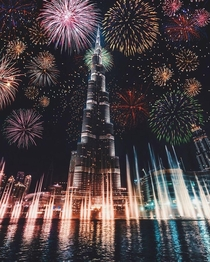 New Year in The Burj