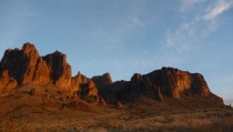 New Years Day in the Superstition Wilderness Arizona