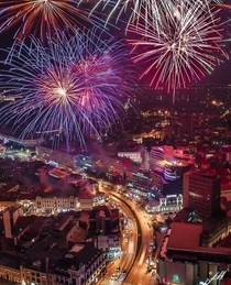 New Years Eve in Novi Sad Serbia