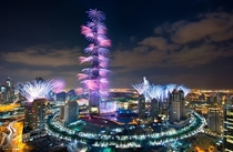 New Years Fireworks in Dubai