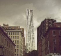 New York By Gehry is the tallest residential tower in the Americas