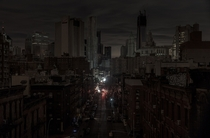 New York City during a blackout
