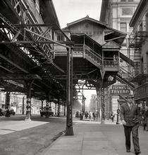 New York City Elevated Train
