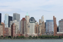New York City from the Hudson River