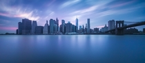 New York City Skyline at blue hour by Casey McCallister