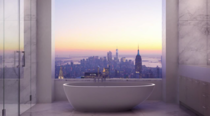New York Cityporn from a bathroom  xpost from rminimalism