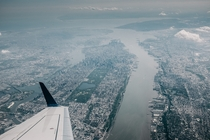 New York from above  Photograph by Jonathan Percy