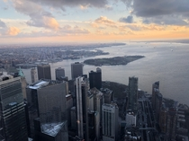 New York from One World Trade Center- Dec