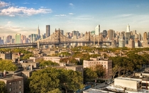 New York from the rooftops of Queens