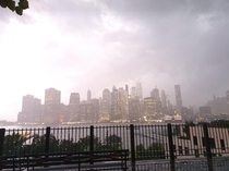 New york last wednesday  -  july lighting strike