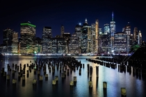 New York Skyline from Brooklyn Pier