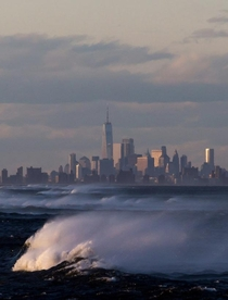 New York upon the waves