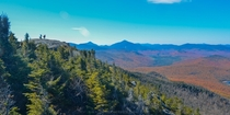New Yorks Adirondack Mountains in the Autumn