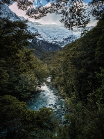 New Zealand bringing the goods - Mount Aspiring Nationalpark -