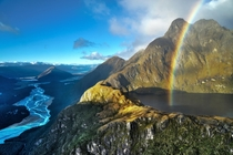 New Zealand Can you keep a secret I think I may have discovered the end of the rainbow says Rick Schwartz Ill be going back to find the pot of gold but at least I know where it is Well actually I have no idea where this is other than somewhere in Mount As