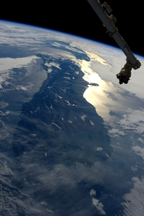 New Zealand from the International Space Station