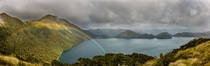 New Zealand Green Lake panorama photographed by Danilo Hegg