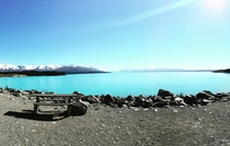 New Zealand Lake Pukaki
