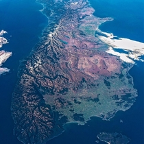 New Zealands South Island From the ISS