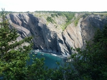 Newfoundland Canada Often Referred to as The Rock