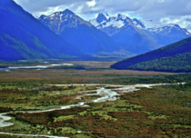Newly created Yendegaia National Park Patagonia Chile