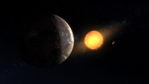 Newly Discovered exoplanet Kepler-c located  light years away Artist-Daniel Rutter