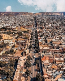 Newly inducted World heritage city of Jaipur