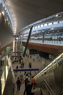 Newly opened bn London Bridge station