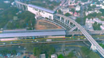 Newly opened Jubilee Bus Stand JBS Metro station in Hyderabad It is the tallest metro station in India at a height of m ft
