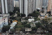 Nga Tsin Wai village set to be demolished as part of a city re-urbanization plan in Wong Tai Sin District in Hong Kong The village can be traced back to the th century Anthony Kwan