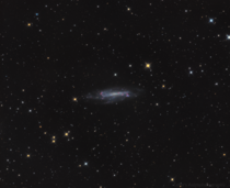 NGC  - Barred Spiral Galaxy in Draco