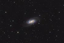 NGC Barred Spiral Galaxy in Leo