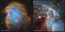 NGC  in Hubble IR and wider context
