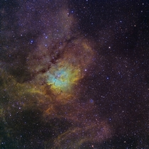NGC  in Vulpecula my final work of the summer