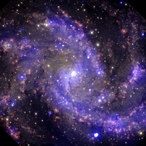 NGC  known as the Fireworks Galaxy