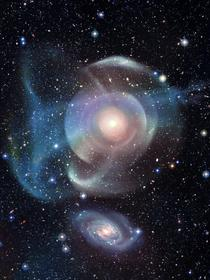 NGC  Majestic Galaxy encased within shells
