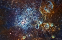 NGC  Narrowband - The Tarantula Nebula
