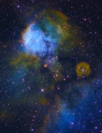 NGC  Skull and Crossbones Nebula