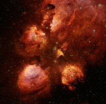 NGC The Cats Paw Nebula